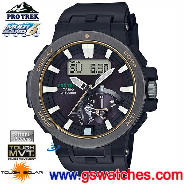 huge discount e60b7 023a5 CASIO(卡西歐) CASIO PRW-7000-1BDR(公司貨,保固1年):::PRO TREK ...